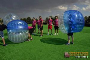 despedidas-soltero-futbol-burbuja-toledo-2